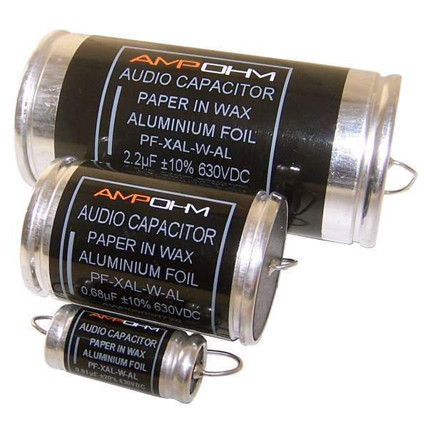 aluminum electrolytic capacitors for audio applications